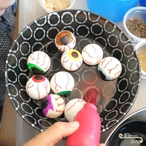Activité enfant - Laboratoire atelier de potions pour petits sorciers Halloween grimoire sorcière expériences