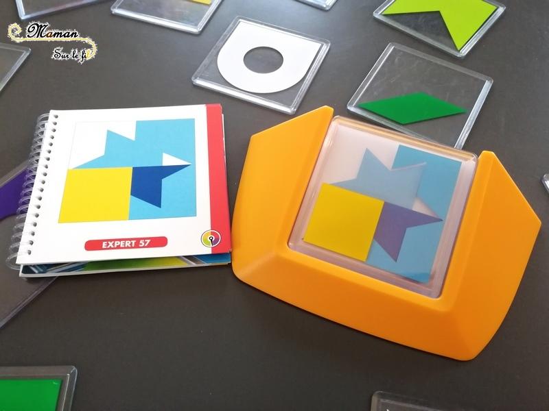 Avis code Couleur de Smartgames - jeu de casse-tête - 1 joueur - 5 ans et plus - reproduction de modele - formes géométriques - défis - mslf