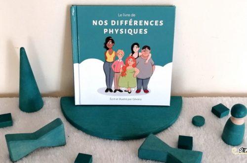 Le livre de nos différences physiques de Cevany - éditions Ailes et graines - littérature jeunesse autour du respect, de la bienveillance, de l'acceptation, du handicap - mslf