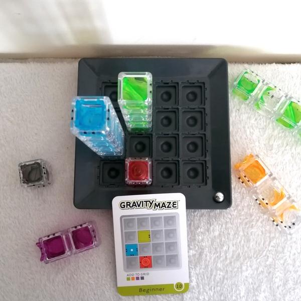 Test et avis - Gravity Maze de ThinkFun - casse-tête - jeu de logique circuit à billes - défis gravité - mslf