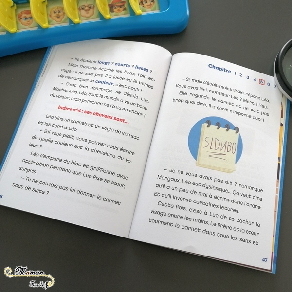 Test et avis livre enfants - Enigmes et enquête - roman inspiré du jeu Qui est-ce ? - Dragon d'or - suspects déduction coupable - Livre jeu mathématiques logique - littérature enfant - mslf