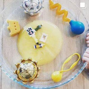 Rendez-vous sur le fil - Janvier - J'aime la galette et tout ce qui va avec - participations - idées activités - mslf