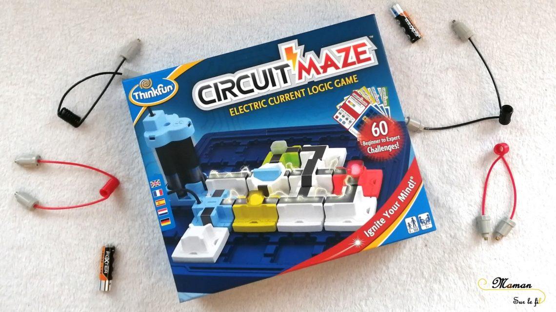 Test et avis - Circuit Maze de ThinkFun - casse-tête - jeu de logique - allumer lampes - circuit électrique - électricité - expériences sciences - défis - mslf