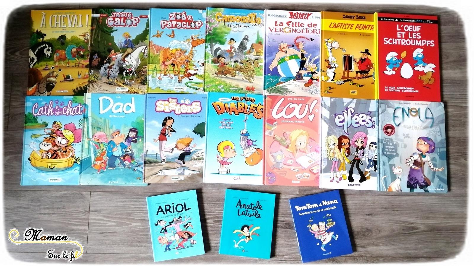 Les Bd Preferees De Ma Fille De 9 Ans Lecture Maman Sur Le Fil
