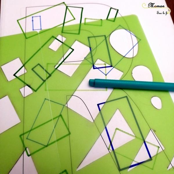 Abécédaire créatif - R comme Rectangles, Rébus et Route - activité manuelle enfants - dessin, peinture, gommettes, formes - apprentissage lettres alphabet - maternelle - mslf