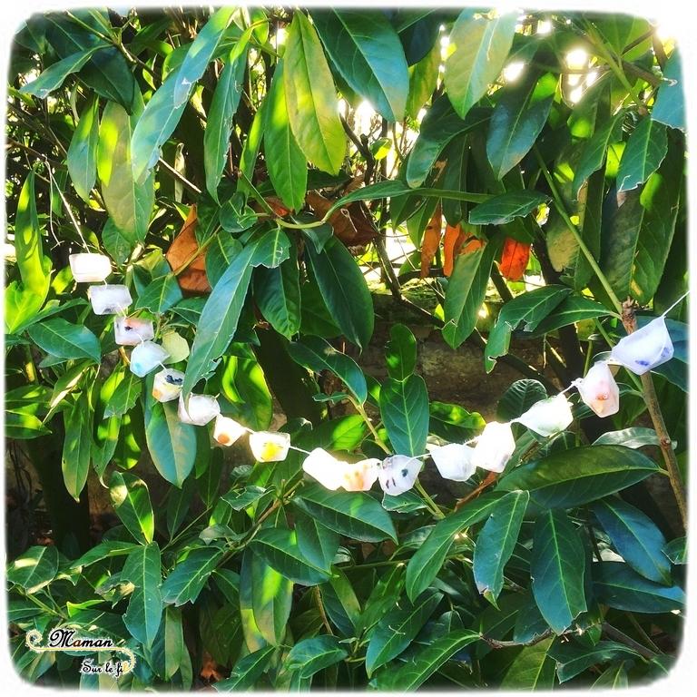 Activité enfants - guirlande et suspension extérieure de glaçons Pokemon - sensoriel - décoration jardin - mslf