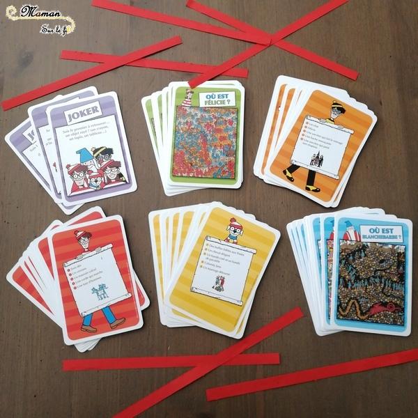 Jeu de société enfants - Mon jeu de cartes Où est Charlie de Grund - Jeu d'observation et de rapidité - discrimination visuelle et détails - 5 ans et plus - Test et avis - mslf
