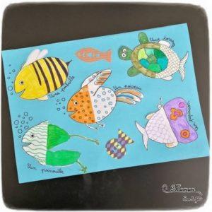 RV Sur le Fil - Juillet - Au bord de la mer - Participations - Activités, lectures, jeux enfants - sélection thème mer, animaux marins, plages - mslf