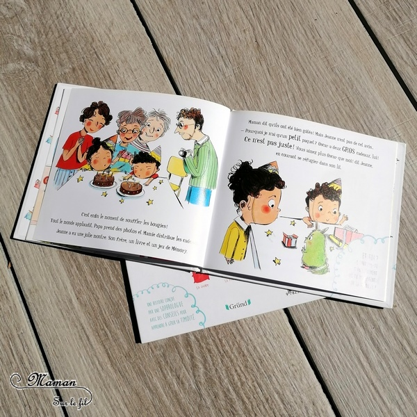Apprivoiser ses émotions avec les petits monstres de Gründ - Jeu et livre de mes émotions enfants - 7 familles revisité par une sophrologue - conseils et astuces - test et avis - mslf