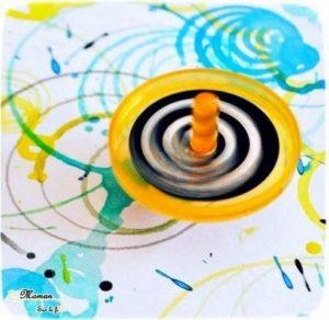 Participations au RV sur le fil : Techniques de peinture originales - Activités créatives enfants