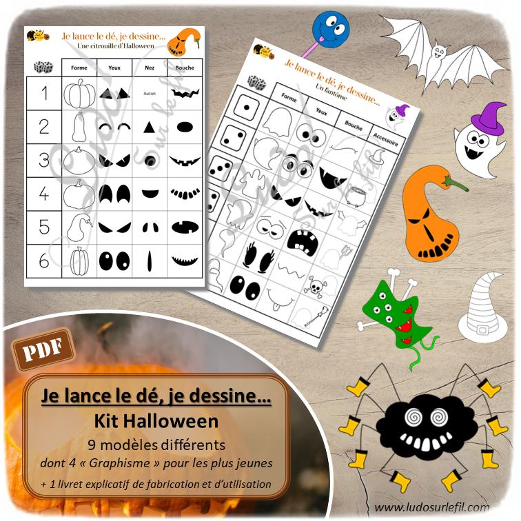 Nouveautés d'octobre - Boutique en ligne Ludo sur le fil - fichiers jeux pdf à imprimer - Automne, champignons, Halloween, animaux forêt, ferme, domestiques, véhicules terrestres - mslf