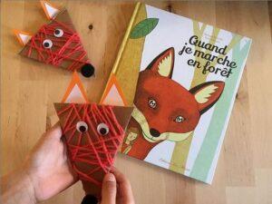 Participations RV Sur le fil - activités, lectures, jeux enfants sur le thème de la forêt