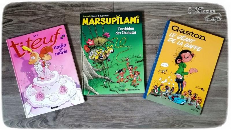 Test et avis livre bande-dessinée enfants - BD préférées fille 10 ans - classiques - fantastiques, magie - vie quotidienne, école - mangas - mario bros - littérature jeunesse - Livres et bandes-dessinées - mslf