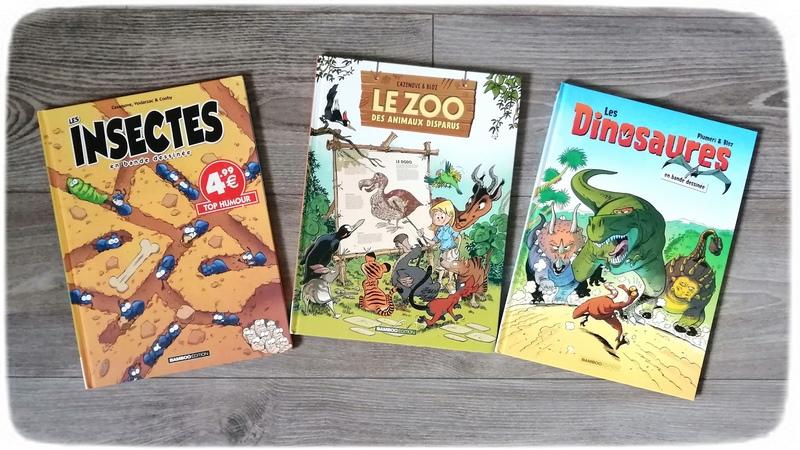 Test et avis livre bande-dessinée enfants - BD préférées garçon 7 ans - classiques - fantastiques, magie - vie quotidienne, école - mangas, jeux vidéos - animaux - mario bros - littérature jeunesse - Livres et bandes-dessinées - mslf