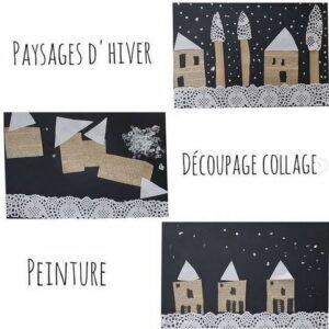 Récap idées activités enfants thème Hiver froid polaire banquise neige - cuisine, activités, arts visuels, livres et lecture, jeux de société - RV Sur le fil - mslf