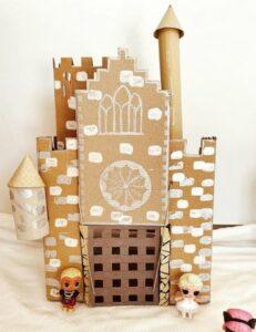 Récap idées activités enfants thème Avec du carton - Récup - Boites à oeufs, assiette, emballages, rouleaux de papier toilettes - RV Sur le fil - mslf