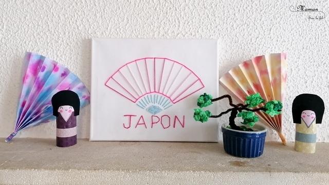Activité créative enfants - Fabriquer un faux bonsaï japonais avec des fils chenilles et du papier crépon - Récup - Froissage - Motricité fine - Bricolage - Créativité - Découverte de l'Asie et du Japon - Découverte d'un pays - Espace et géographie - arts visuels et atelier maternelle et Cycle 1 et 2 - mslf