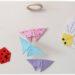 Activité créative enfants - Nuée insectes en origami - Abeille, coccinelle et mobile suspension de papillons graphiques - Graphisme et Pliage de papier, bricolage, DIY - Printemps - Découverte de l'Asie et Japon - Tutoriel - Découverte d'un pays - Espace et géographie - arts visuels et atelier maternelle et Cycles 2 et 3 - mslf