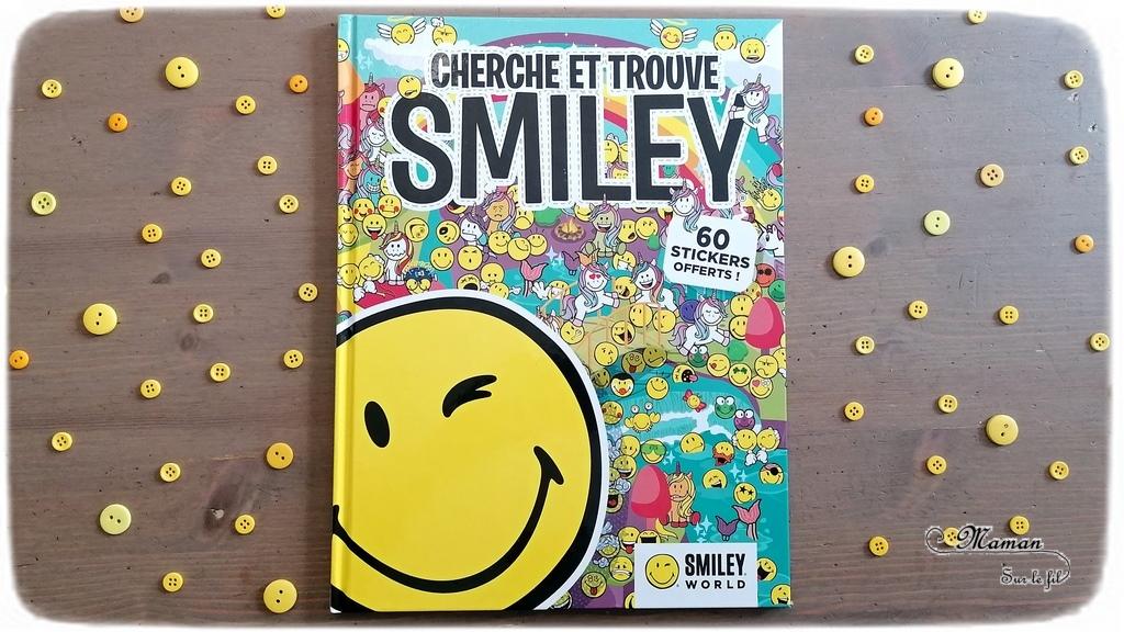 Test et avis livre enfants - Cherche et Trouve Smiley - Ma vie en Smiley chez les livres du Dragon d'Or - pour les fans d'Emojis - Kit de cartes à gratter - Créatif - Livre Jeu qui permet d'aborder les émotions en s'amusant - Défis, jeux - Observation et patience - Livre jeu - littérature enfant - mslf