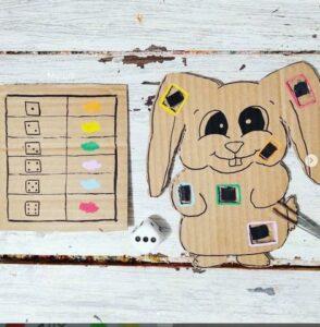 Récap idées activités enfants thème Chasse et Pêche - Pâques et 1er avril - oeufs et poissons - RV Sur le fil - mslf