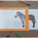 Activité créative et manuelle enfants - Fabriquer un cadre magique pour colorer des zèbres - Rayures en couleurs ou arc-en-ciel - Zèbre noir et blanc qui se colore - Bricolage Jeu DIY - Fait maison - Feutres - Cadre - Créativité - Afrique et Kenya - Découverte d'un pays - Animaux de la savane - Espace et géographie - arts visuels et atelier maternelle et Cycle 1 et 2 - Eté - mslf