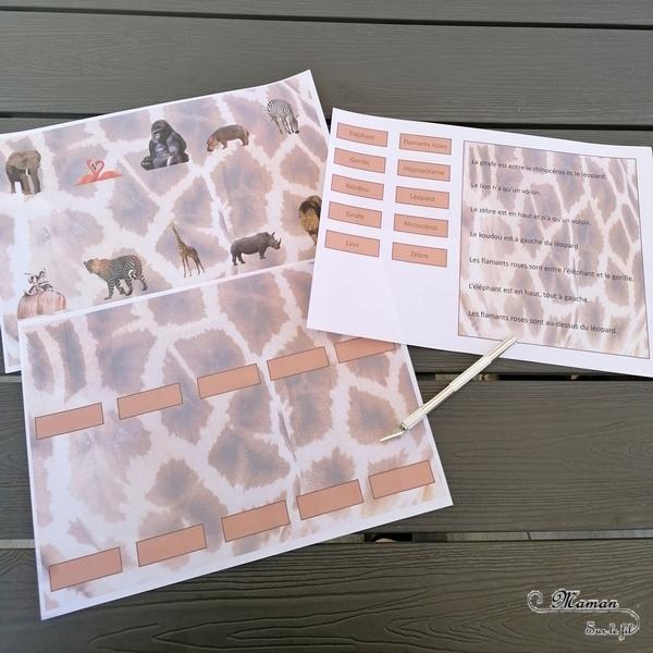 Activité enfants - Jeu à imprimer Où sont les animaux de la savane ? - Jeu de lecture, de compréhension, de logique et de représentation spatiale - Photos - Jeu autocorrectif et ludique grâce aux rabats, fenêtres à ouvrir - Jeu à imprimer DIY sur les animaux de la savane, Kenya et Afrique - printable gratuit - Atelier maternelle et élémentaire - A télécharger Jeux pédagogiques - Documents éducatifs numériques - Découverte d'un pays - Animaux de la savane - Espace et géographie - Cycle 2 - Eté - mslf