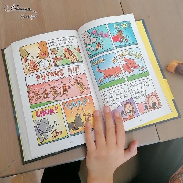 Test et avis livre enfants - Nouveauté BD de chez Dupuis - Dog Man de Dav Pilkey - BestSellerMondial - Super-Héros Mi-chien, mi-policier - Humour décalé - Première lecture - Parfait pour cycle 2 - coup de coeur - fille et garçon 6 7 8 9 10 ans - Bande dessinée - littérature enfant jeunesse - mslf