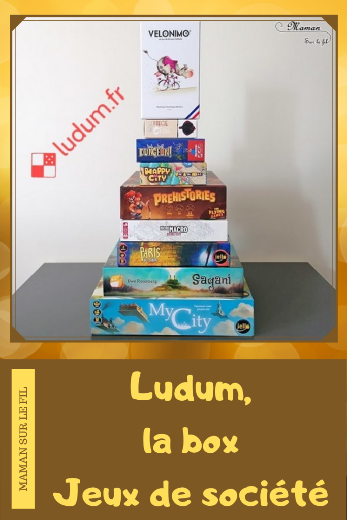 Box Ludum - Box surprise à abonnement - Découverte de jeux de société - Enfants Adultes - Réduction achat - Plusieurs variantes - Marmots, Discovery, Easy, Party - Abonnement trimestriel - Chouettes sélections - Coups de cœur - Avis - mslf