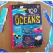 Livre enfants - 100 infos insolites sur les océans - éditions Usborne - Documentaires Mer, animaux marins, poissons, plage - Thème été - Petites anecdotes rigolotes - littérature enfant et jeunesse - Test et avis - mslf