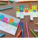 Activité créative et manuelle enfants - Maisons hollandaises en bord de canal en récup' - Reflet dans l'eau - Coloriage - Jeu entre feutres et crayons de couleur - Travail de la symétrie et de géométrie - Créativité - Europe - Pays-Bas, Hollande, Néerlandais - Amsterdam - Découverte d'un pays - Espace et géographie - arts visuels et atelier Cycle 1, 2 ou 3 - Maternelle et élémentaire - Modèle PDF gratuit à imprimer et télécharger - mslf
